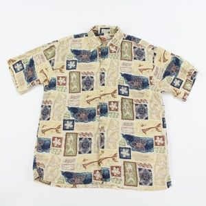 Hilo Hattie The Hawaiian Classic Tropical Shirt